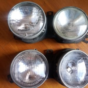 Luces principales E30, US spec