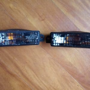Set de luces bumper frontal E30 post